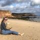 Was für ein Traumwetter für unsere Travelscoutmama Alke mit ihrem Sohn am Strand im Herbst...