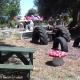 Der Spielbereich für die Kinder auf der Masseria Due Torri