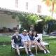 Das sind Eure Gastgeber Madeline und Gerard mit ihren beiden Kindern