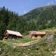 Die zweite im Bunde der zwei Berghütten ist die Ampferhütte. Die hat einen Wahnsinnsblick, ist aber einfacher ausgestattet