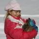 Auch im Winter wollen die Hasen gestreichelt werden