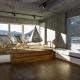Auf 52 qm stehen den Ruhesuchenden insgesamt 14 Relaxplätze zur Verfügung