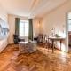 Der Wohnbereich der größten Suite Colbedoi
