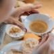 Das leckere Frühstück ist zum größten Teil selbstgemacht oder stammt aus der Region