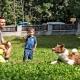 Im Großen Garten können die Kids den ganzen Tag toben