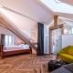 Die Suite Tafel mit Dachbalken und Glas. Ein Traum