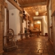 Der Eingang in der Ödmühle wo die meisten Ferienwohnungen sind