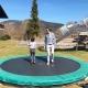 ... trampolinen