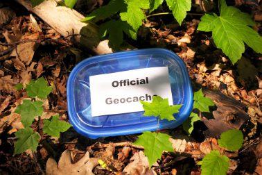 Schätze finden beim geocoaching