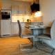Die Küchen sind voll ausgestattet
