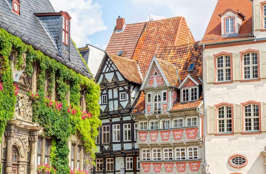Die Altstadt in Quedlinburg - fast zu schön, um wahr zu sein!