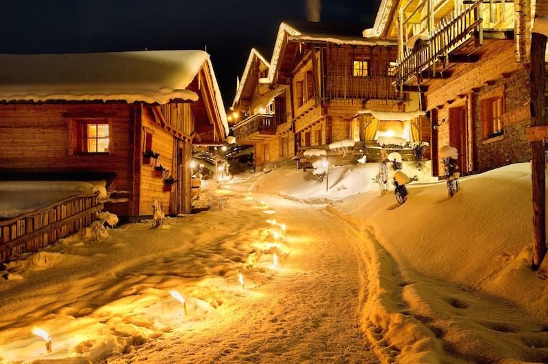 Das Almdorf Sankt Johann ist ein richtiges Dorf!