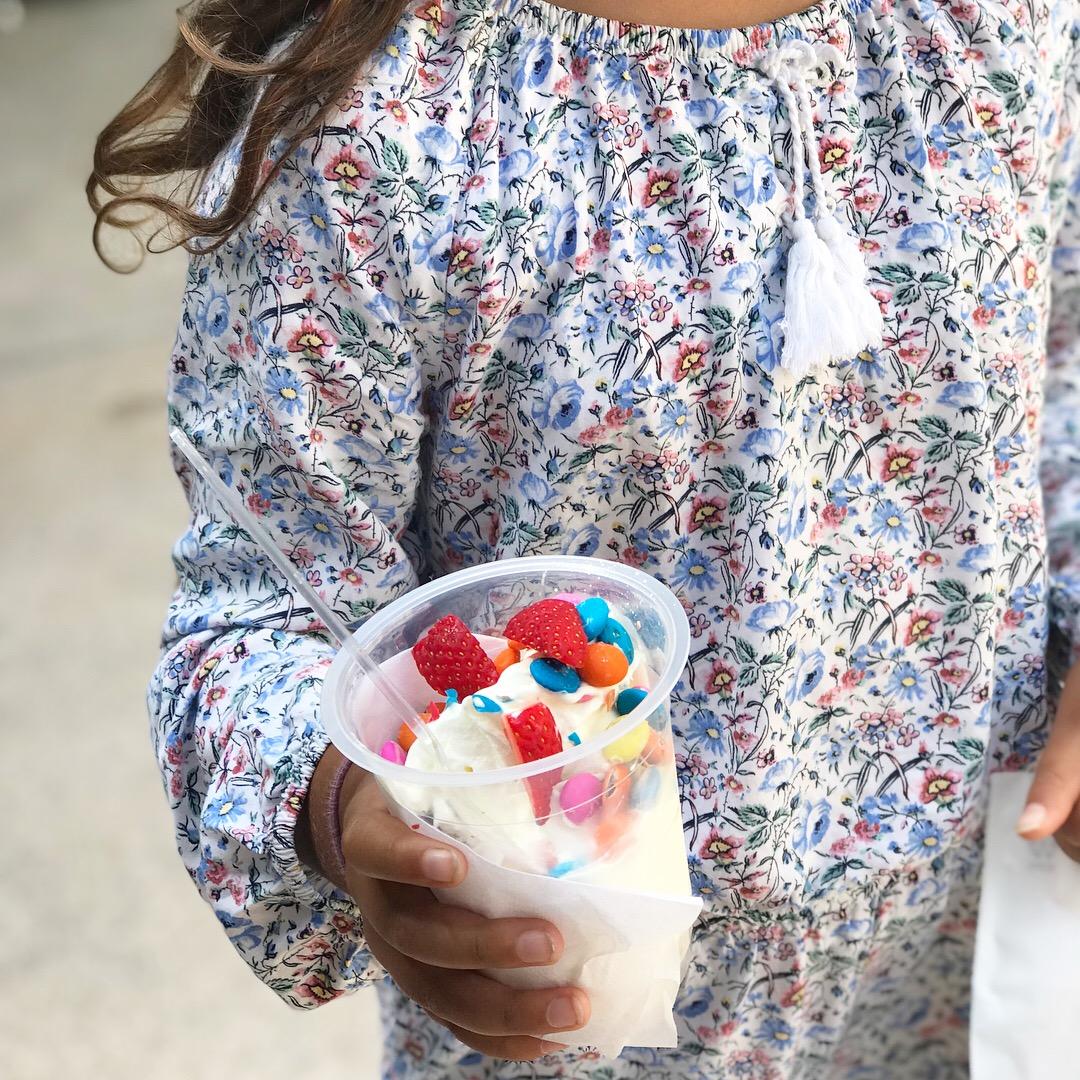 Colombo mit Kindern: Und zwischendrin gab´s ein Frozen Yoghurt im Odel....