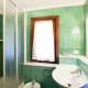 Badezimmer in einem der Apartments auf der Tamerici Farm
