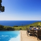 Einige Ferienvillen haben einen Privatpool, wie hier die Villa Agavi