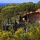 In den 16 Villen habt Ihr ganz viel Privacy, wie hier in der Villa Eucalipiti