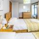 In den Cottages auf Tredethick findet Ihr Schlafzimmer mit Einzelbetten...