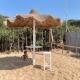 Der Beach Club Bosco Verde eine halbe Stunde von den Trulli entfernt