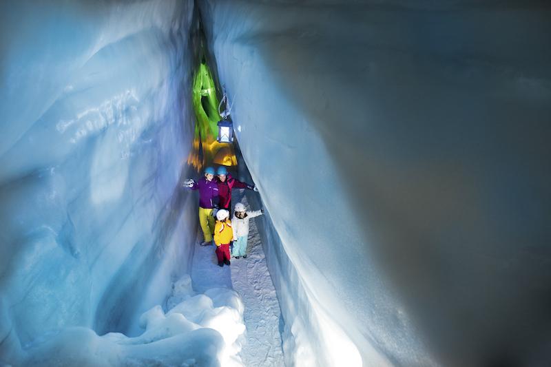 Hintertuxer Gletscher mit Kindern
