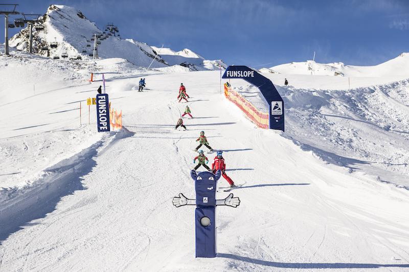 Skifahren mit Kindern in Österreich