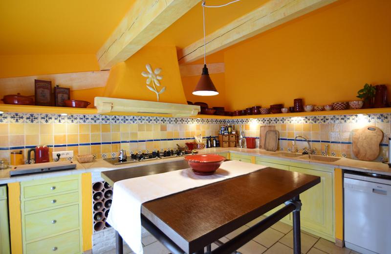 """Die Küche im """"Grenouille"""""""