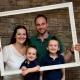Die super sympathische Wachterhof-Gastgeberfamilie Sabine und Stefan Schwemberger mit ihren beiden Söhnen Maximilian und Alexander